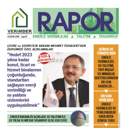 PUBLISHING OF VERIMDER ''RAPOR DERGİSİ'' (REPORT MAGAZINE) ON THE AIR!